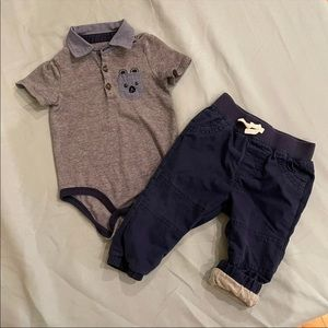 Cute Baby Outfit, 6-9 Months
